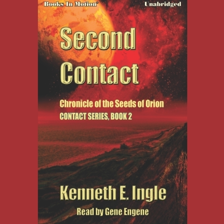Printable Second Contact Audiobook Cover Art