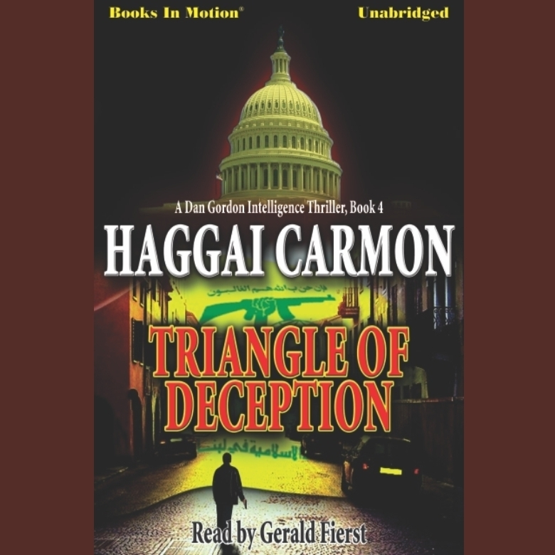 Printable Triangle of Deception Audiobook Cover Art