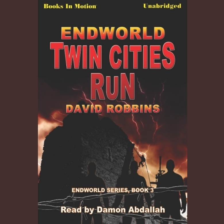 Printable Endworld: Twin Cities Run Audiobook Cover Art