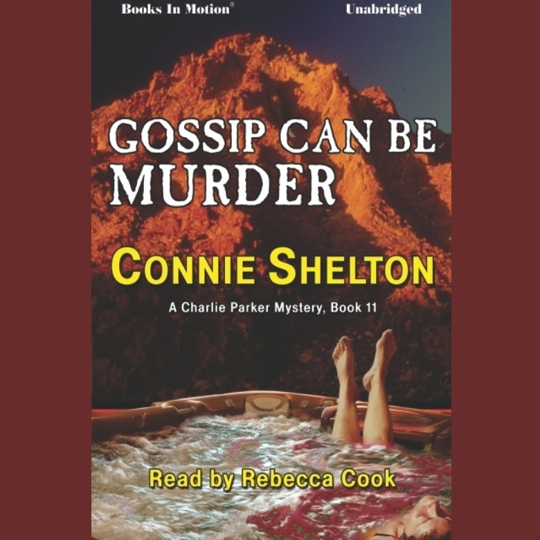 Printable Gossip Can Be Murder Audiobook Cover Art