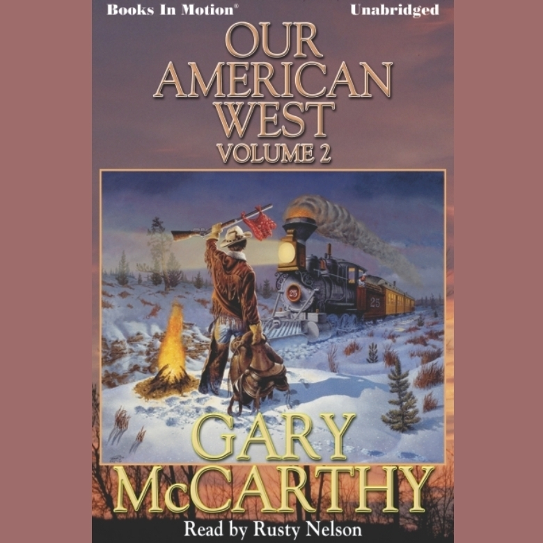 Printable Our American West -2 Audiobook Cover Art