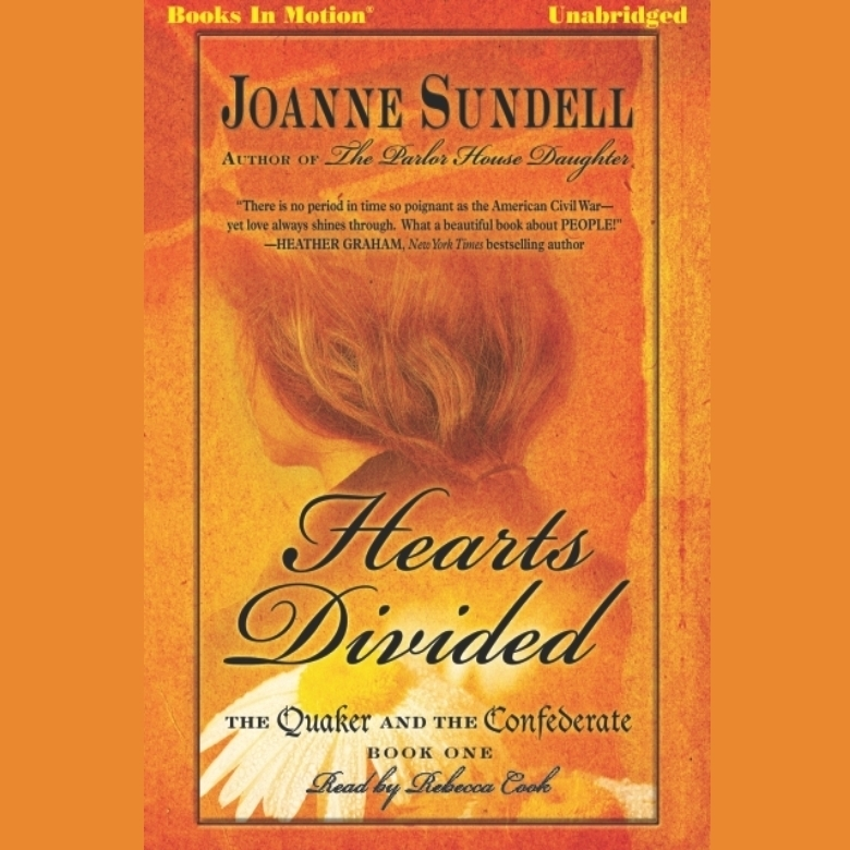 Printable Hearts Divided Audiobook Cover Art