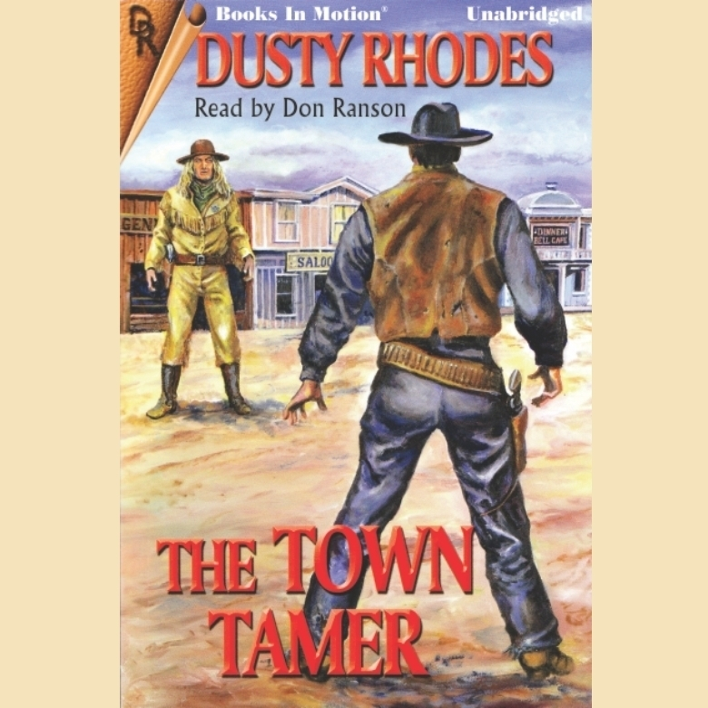 Printable The Town Tamer Audiobook Cover Art