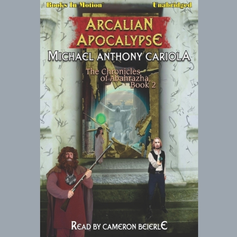 Printable Arcalian Apocalypse Audiobook Cover Art