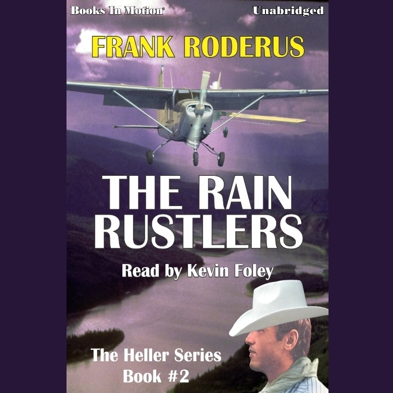 Printable The Rain Rustlers Audiobook Cover Art
