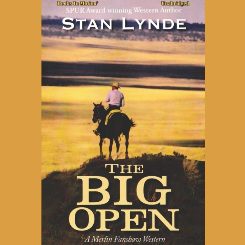 Printable The Big Open Audiobook Cover Art