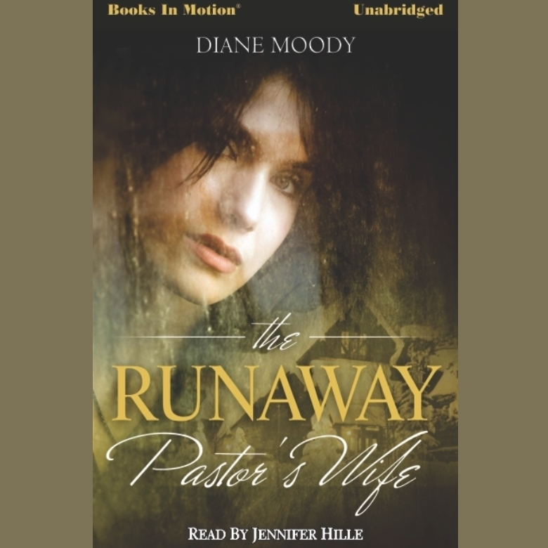 Printable The Runaway Pastor's Wife Audiobook Cover Art
