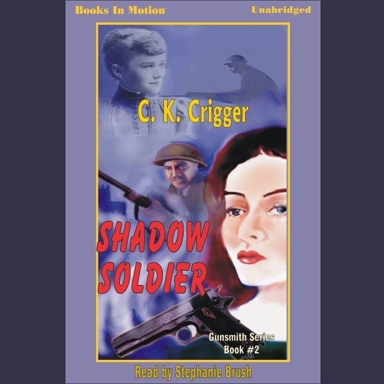 Printable Shadow Soldier Audiobook Cover Art