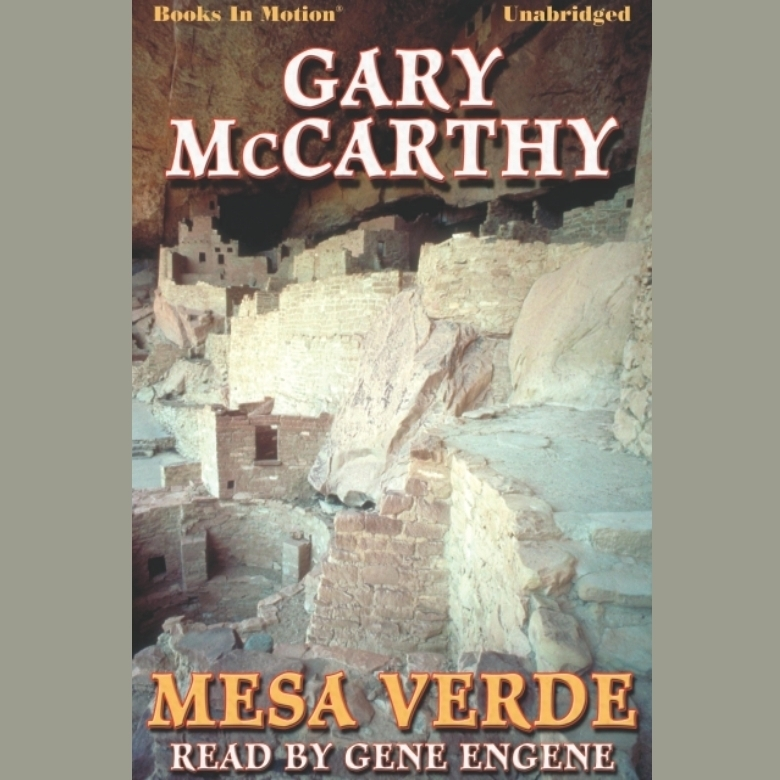 Printable Mesa Verde Audiobook Cover Art