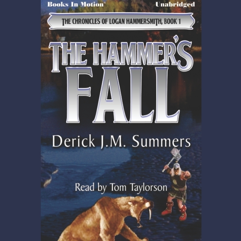 Printable The Hammer's Fall Audiobook Cover Art