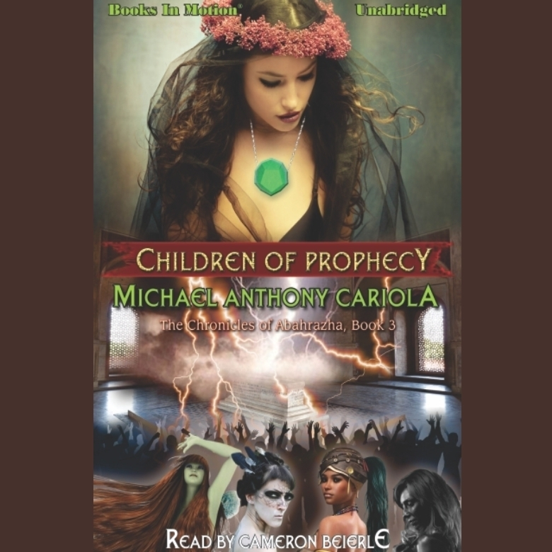 Printable Children of Prophecy Audiobook Cover Art