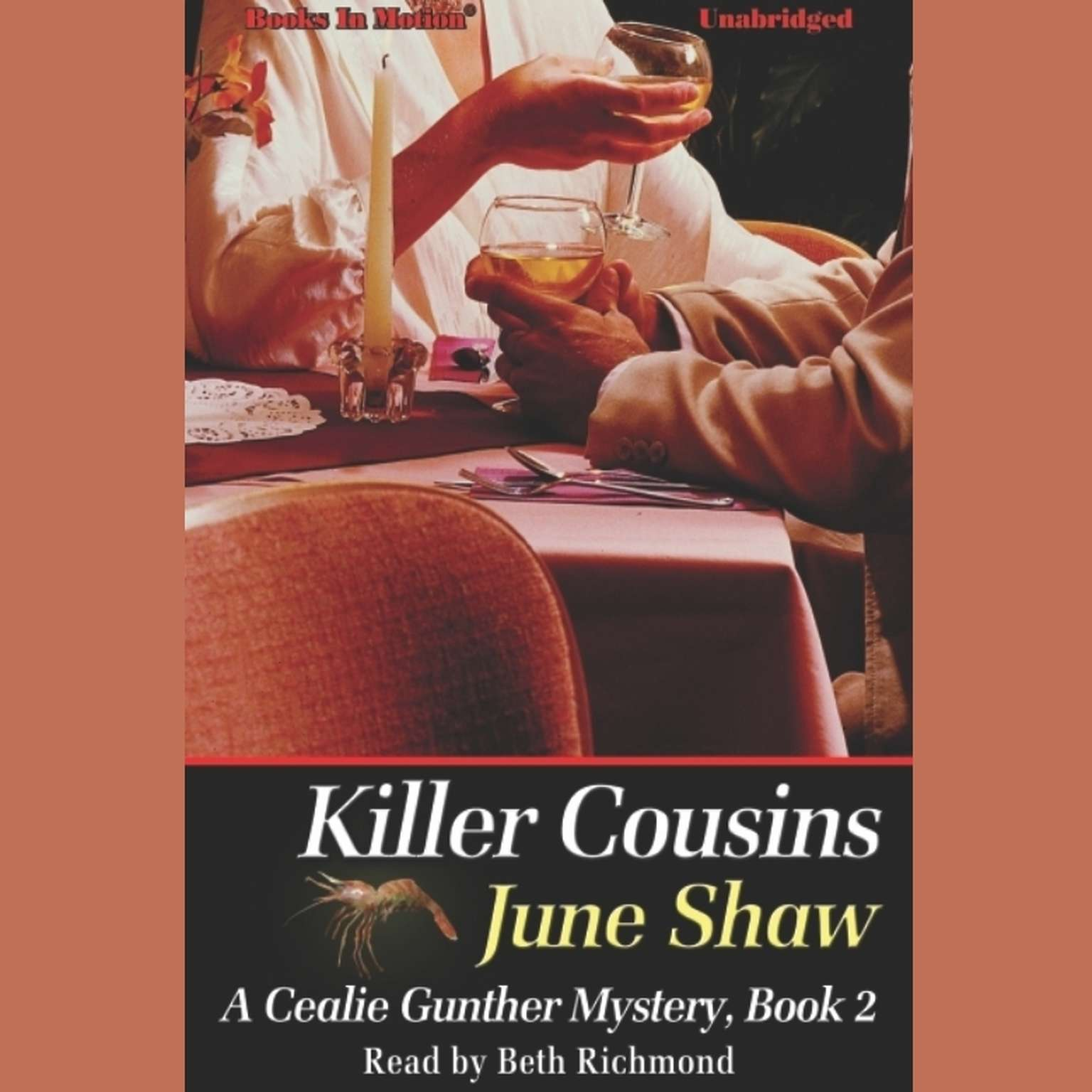 Killer Cousins Audiobook, by June Shaw