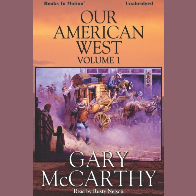 Printable Our American West -1 Audiobook Cover Art