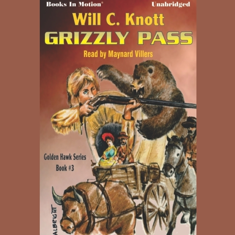 Printable Grizzly Pass Audiobook Cover Art
