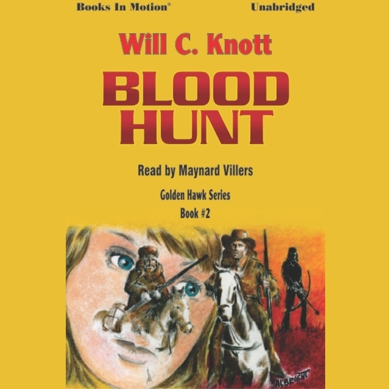 Printable Blood Hunt Audiobook Cover Art