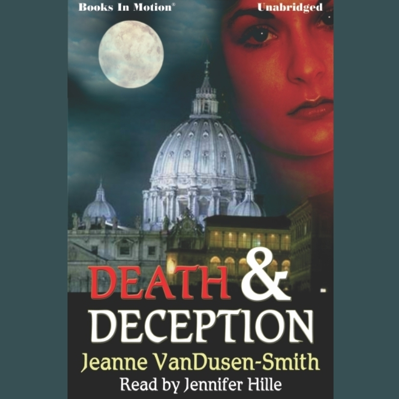 Printable Death and Deception Audiobook Cover Art