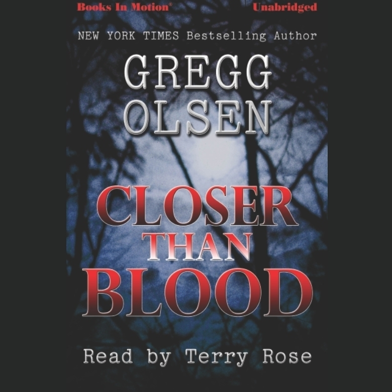 Printable Closer Than Blood Audiobook Cover Art