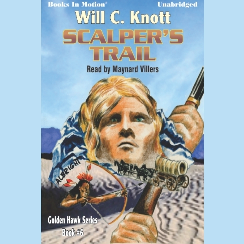 Printable Scalper's Trail Audiobook Cover Art