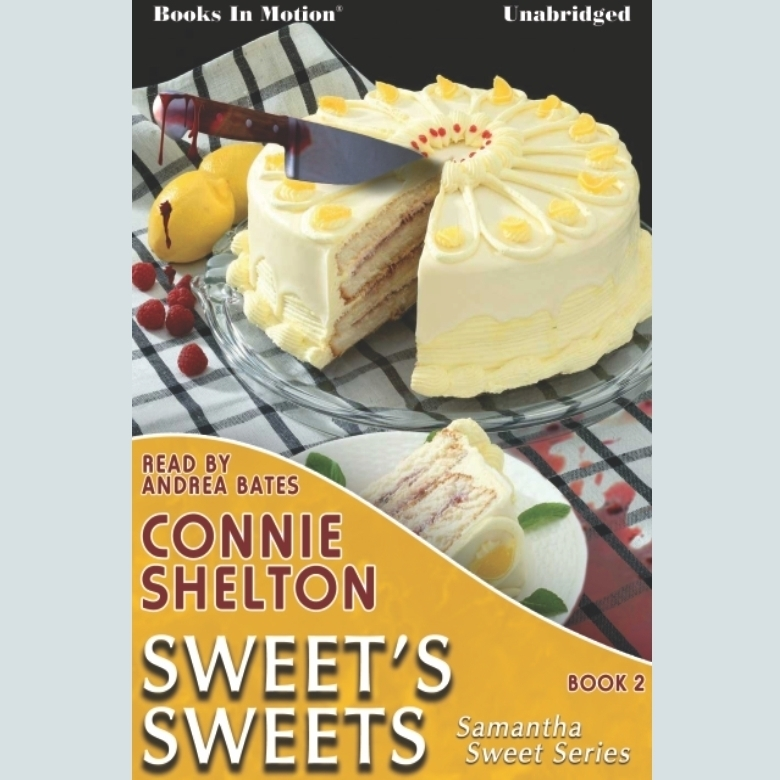 Printable Sweet's Sweets Audiobook Cover Art