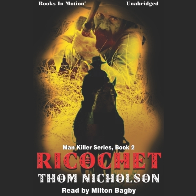 Printable Ricochet Audiobook Cover Art