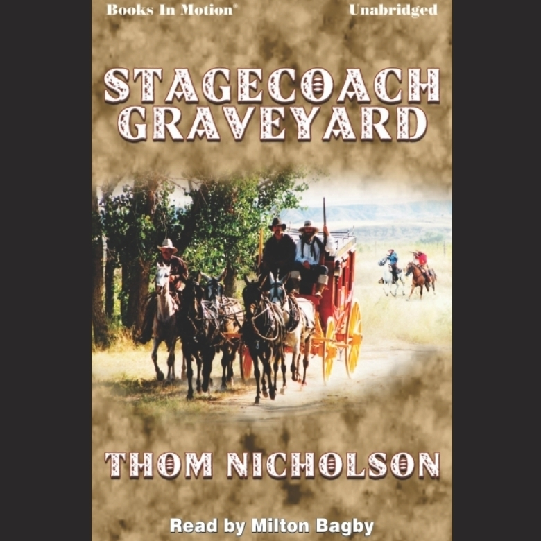Printable Stagecoach Graveyard Audiobook Cover Art