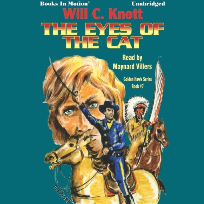 Printable The Eye's of the Cat Audiobook Cover Art