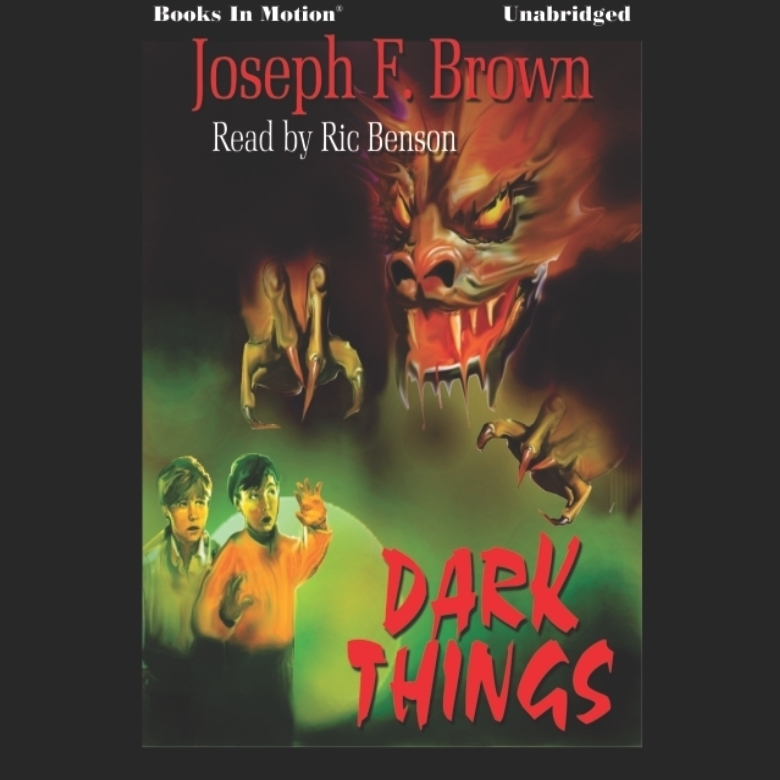 Printable Dark Things Audiobook Cover Art