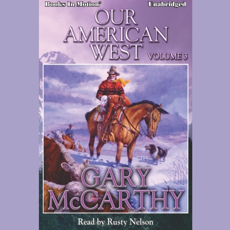 Printable Our American West -3 Audiobook Cover Art