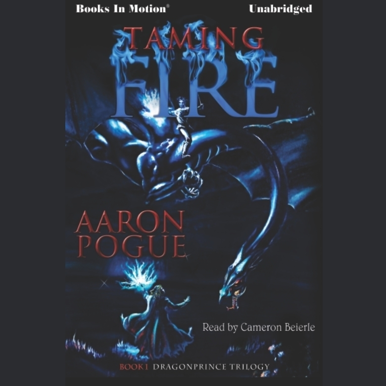Printable Taming Fire Audiobook Cover Art
