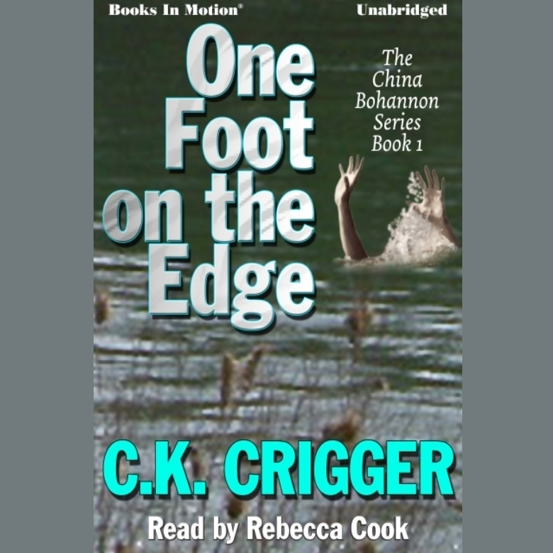 Printable One Foot on the Edge Audiobook Cover Art