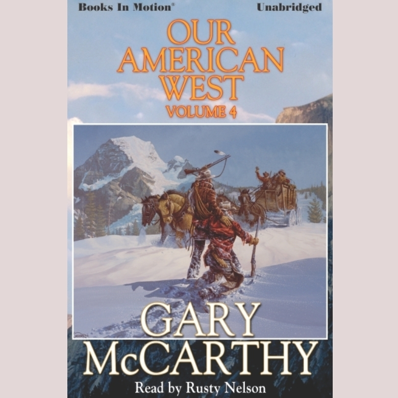 Printable Our American West -4 Audiobook Cover Art