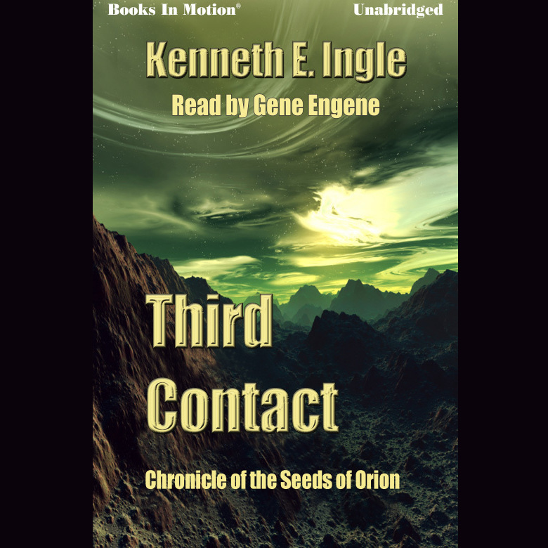 Printable Third Contact Audiobook Cover Art
