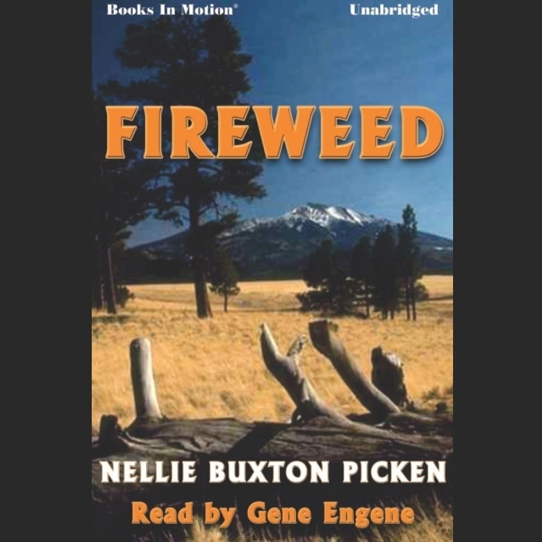 Printable Fireweed Audiobook Cover Art