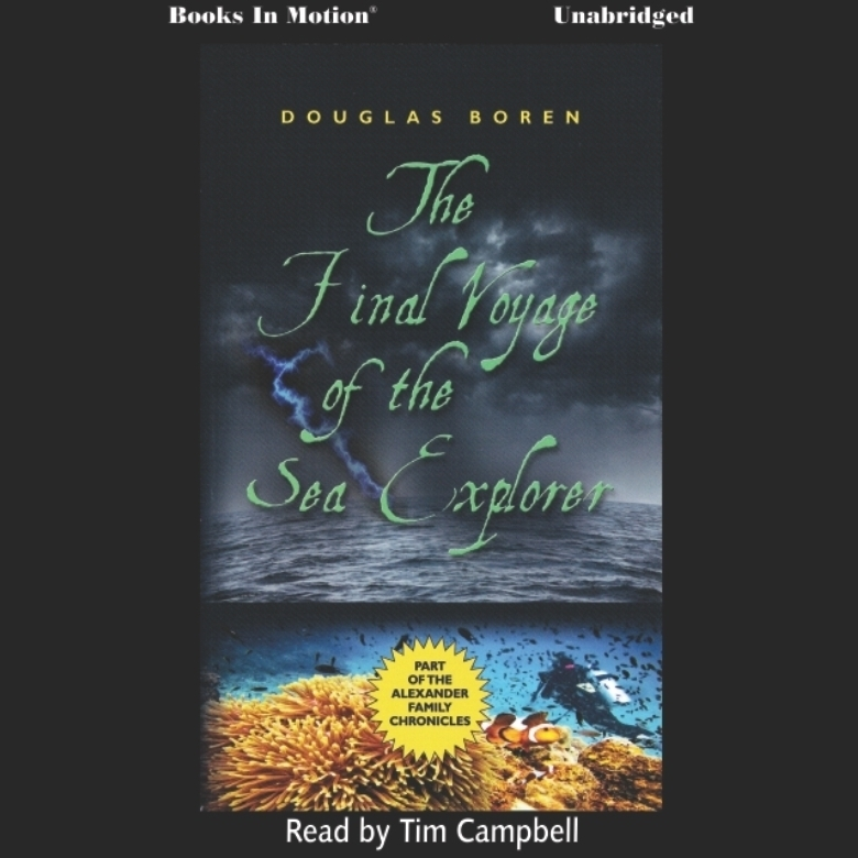 Printable The Final Voyage of the Sea Explorer Audiobook Cover Art