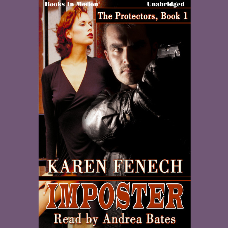 Printable Imposter Audiobook Cover Art