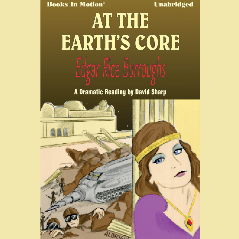 Printable At The Earth's Core Audiobook Cover Art