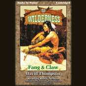 Fang and Claw Audiobook, by David Thompson