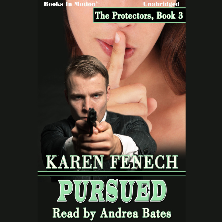 Printable Pursued Audiobook Cover Art