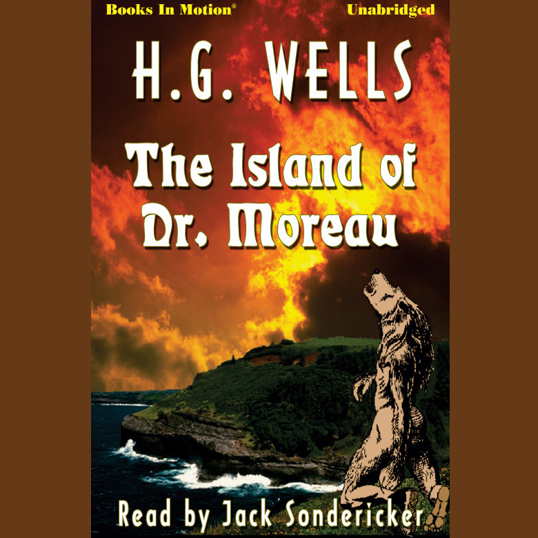 Printable The Island of Dr. Moreau Audiobook Cover Art