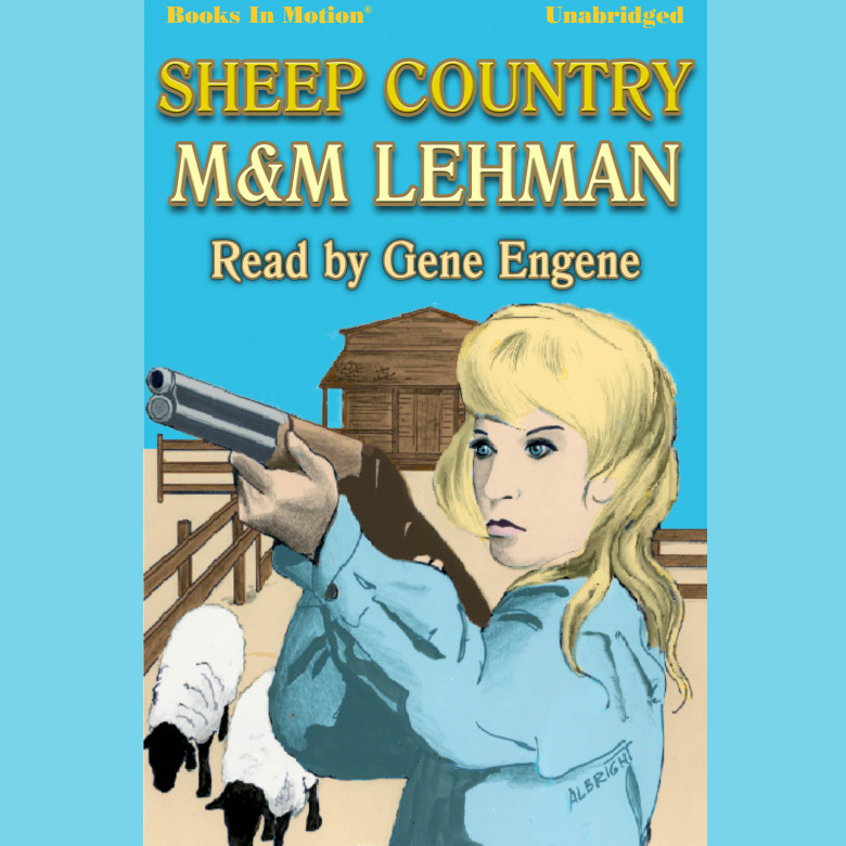 Printable Sheep Country Audiobook Cover Art