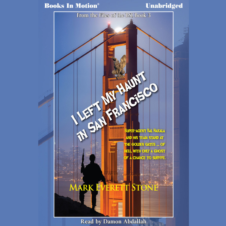 Printable I Left My Haunt in San Francisco Audiobook Cover Art