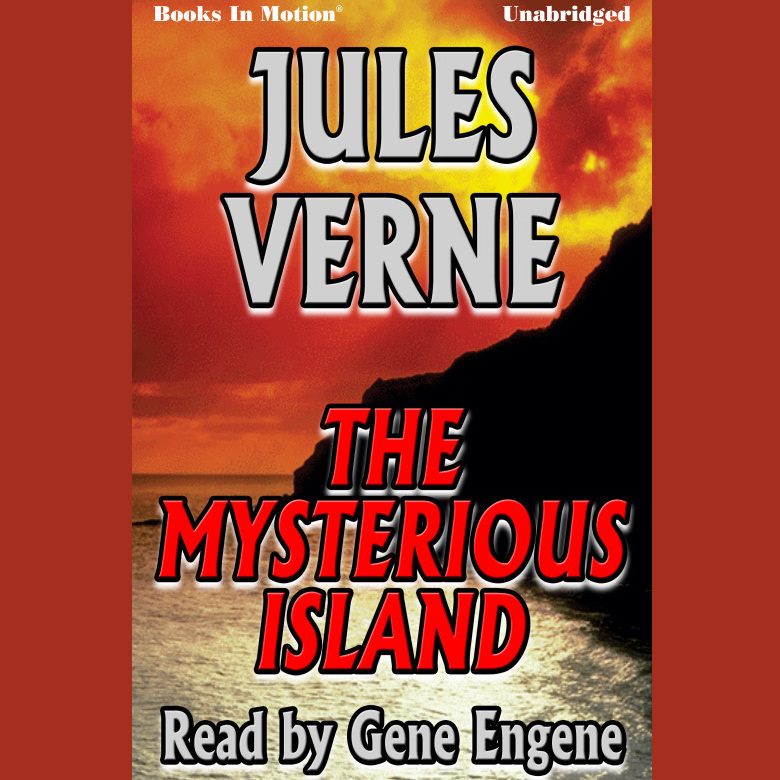 Printable The Mysterious Island Audiobook Cover Art