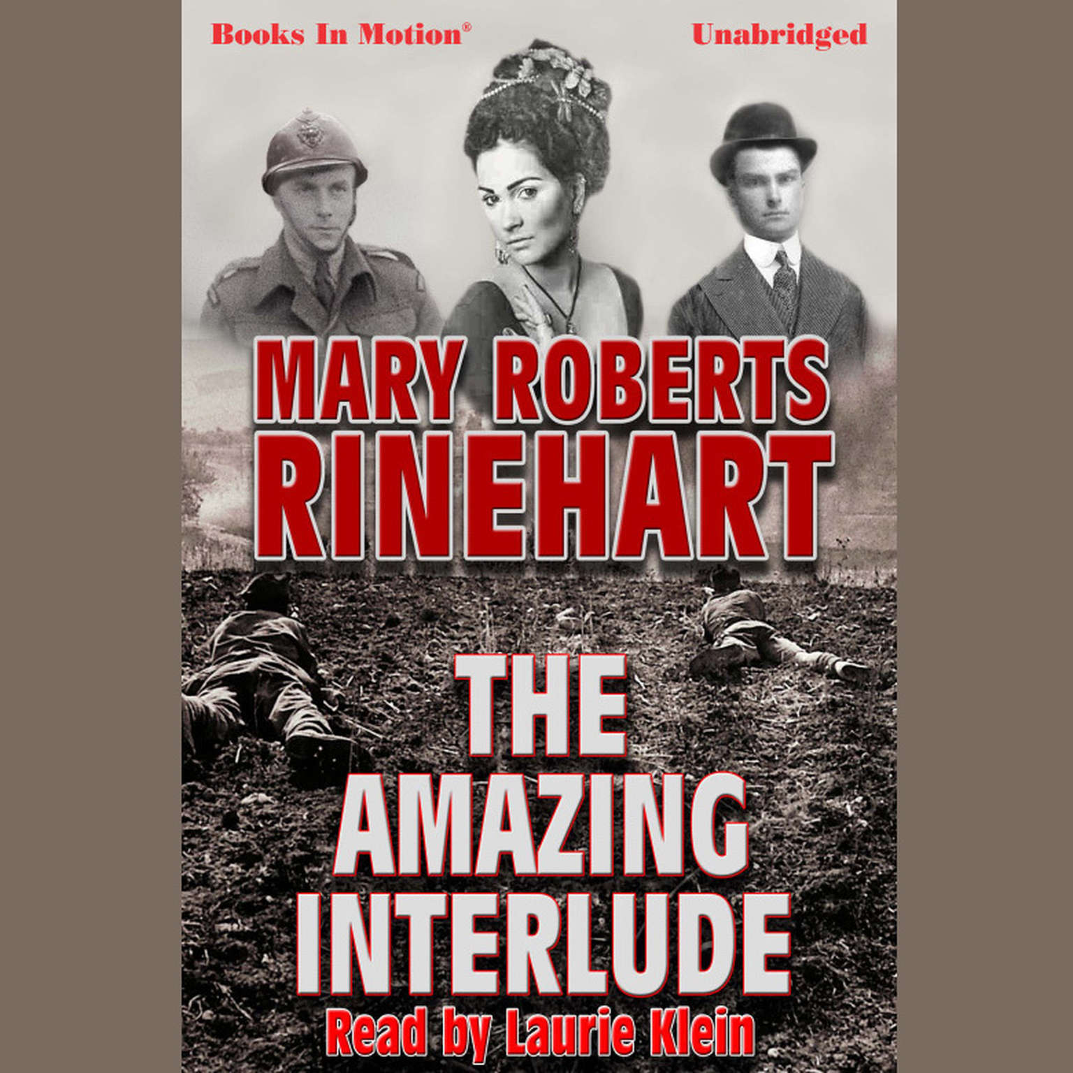 Printable The Amazing Interlude Audiobook Cover Art