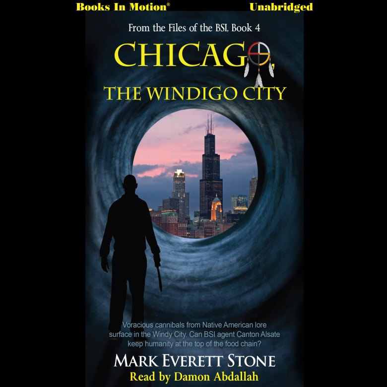Printable Chicago, the Windigo City Audiobook Cover Art