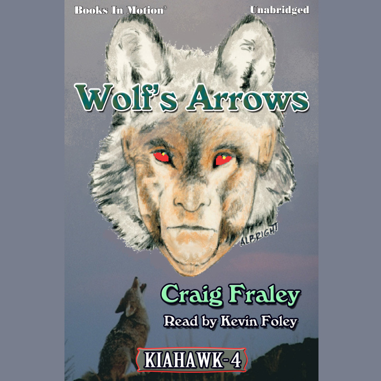 Printable Wolf's Arrows Audiobook Cover Art