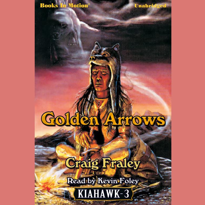 Printable Golden Arrows Audiobook Cover Art