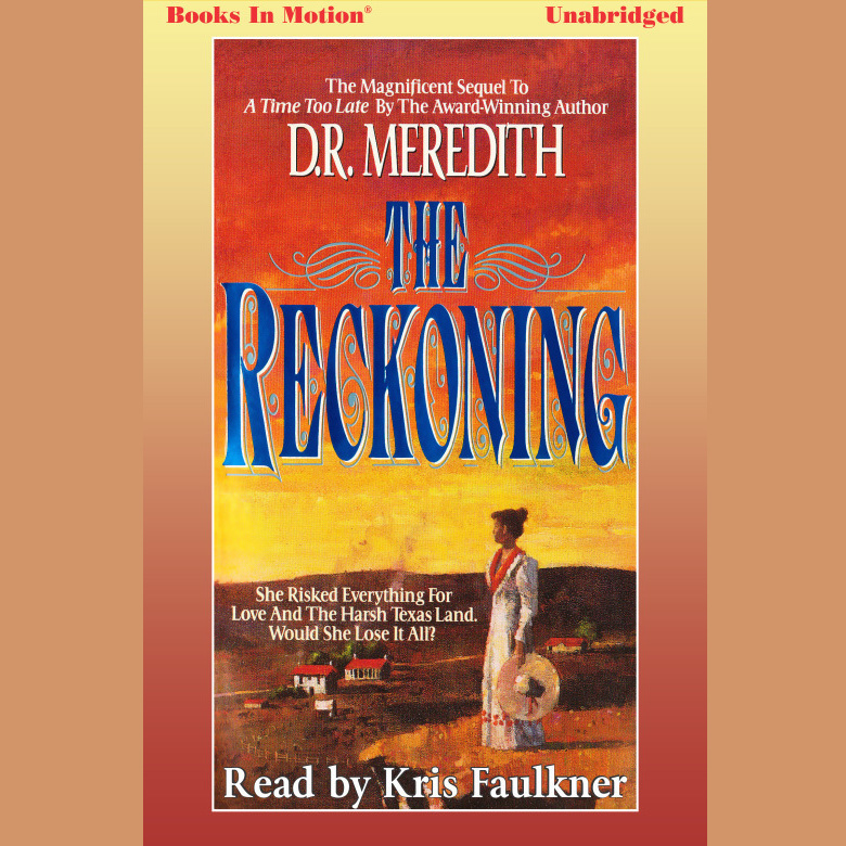 Printable The Reckoning Audiobook Cover Art
