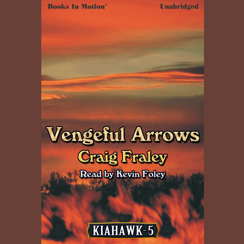 Printable Vengeful Arrows Audiobook Cover Art