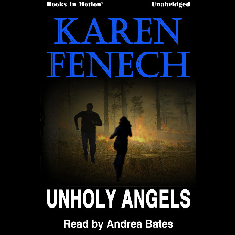 Printable Unholy Angels Audiobook Cover Art