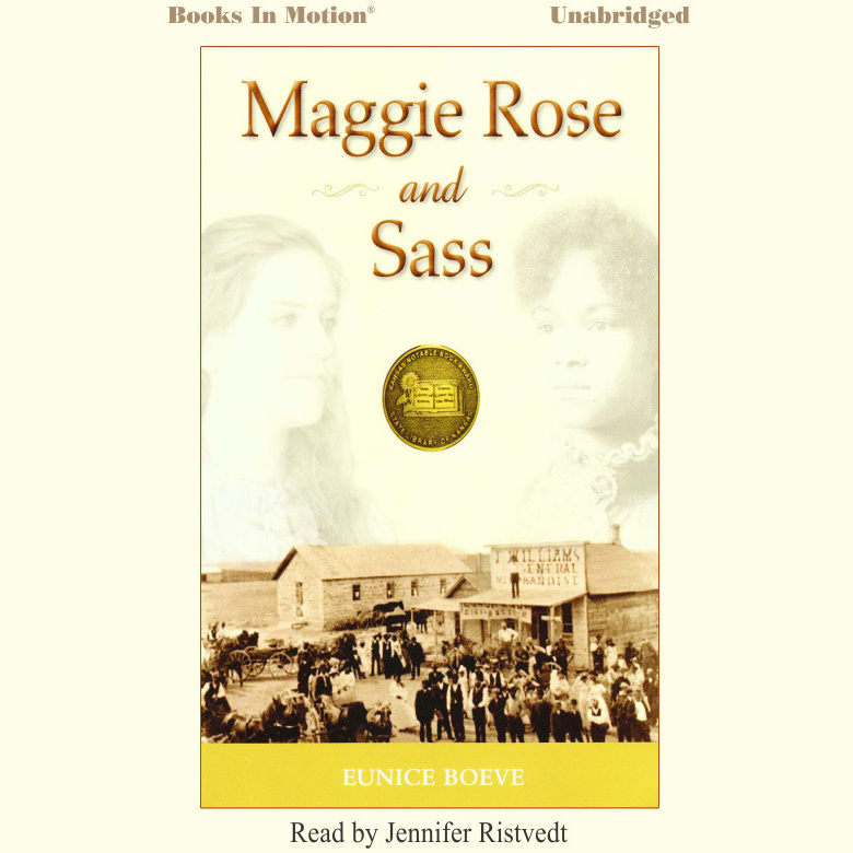 Printable Maggie Rose and Sass Audiobook Cover Art
